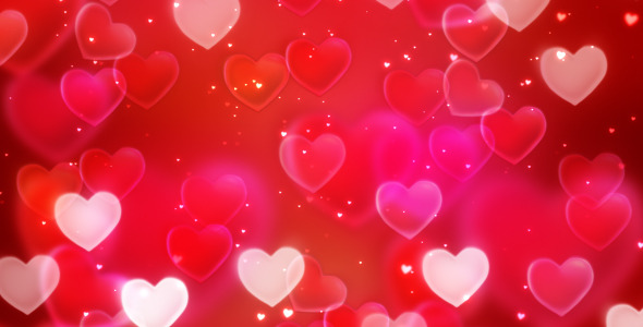 Valentines Love Loopable Background