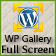 WordPress Full Screen Gallery
