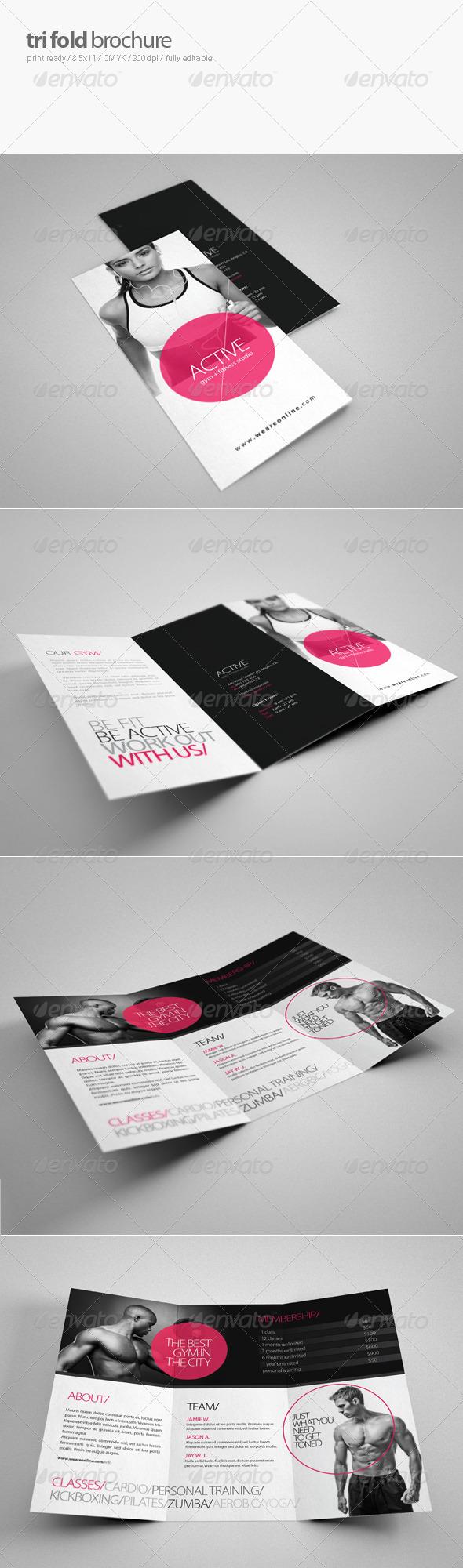 GraphicRiver Fitness Tri-Fold Brochure 2 3802401