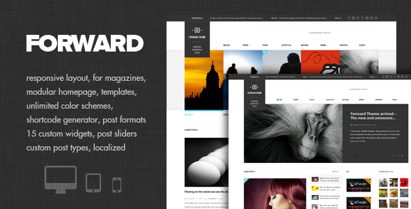 Forward - Modular Magazine Theme