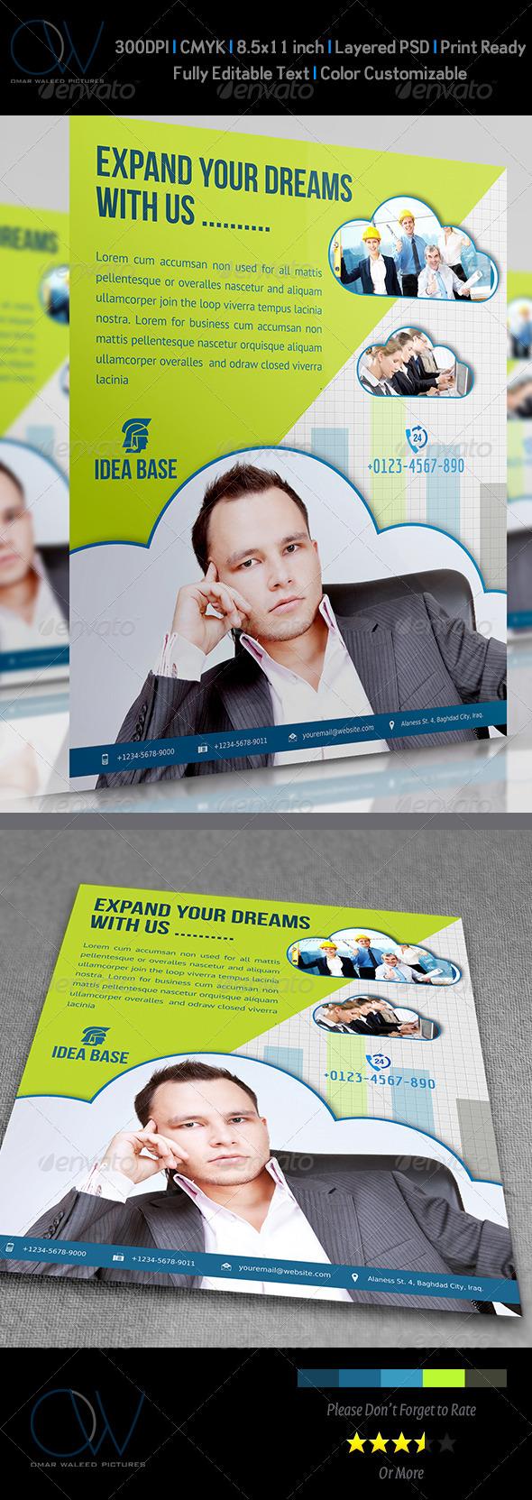 GraphicRiver Corporate Flyer Vol.1 3803412