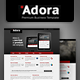 Adora - Premium Business & Portfolio Template - ThemeForest Item for Sale