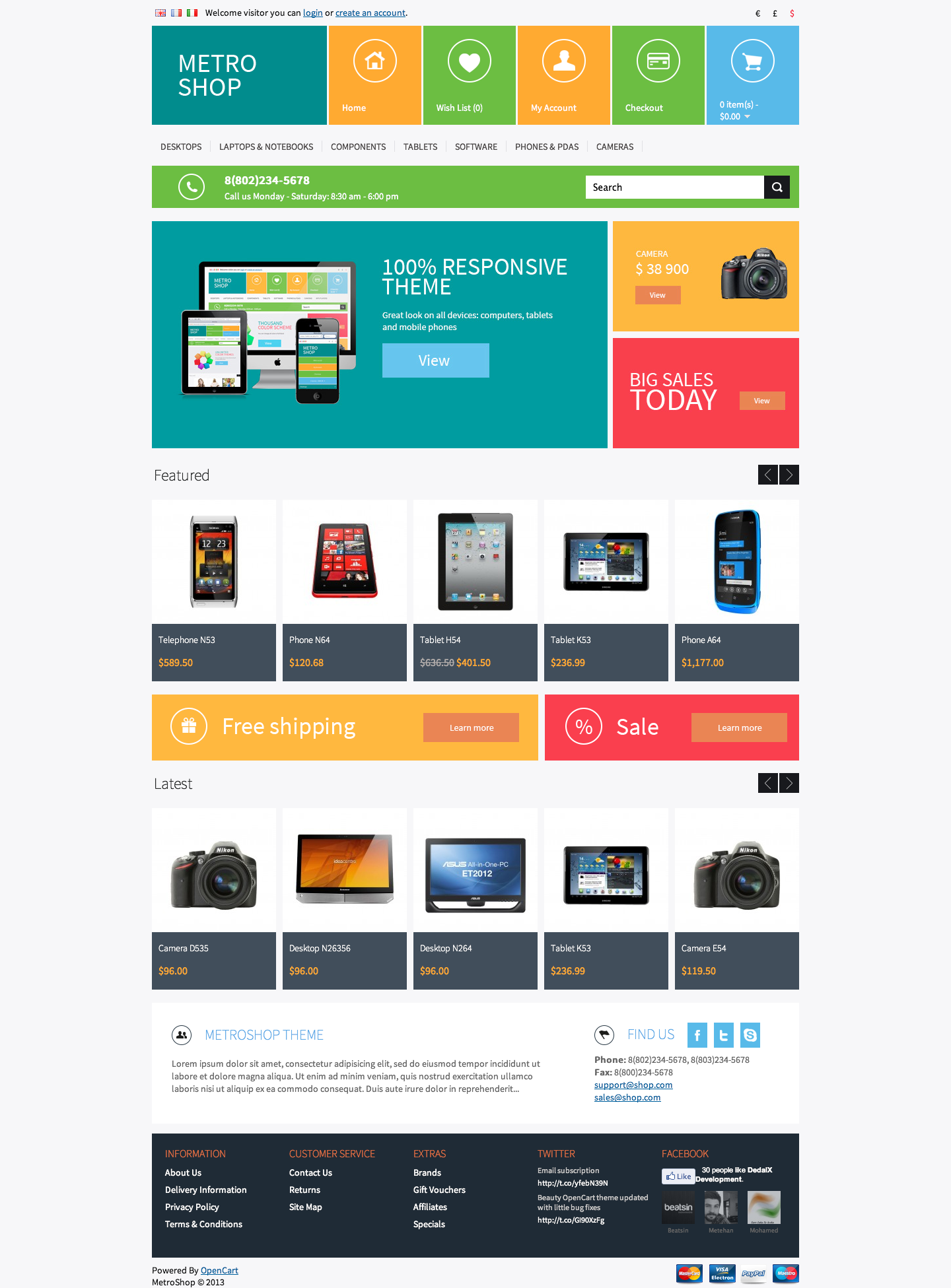 9 Best Opencart Templates And Themes Blogoftheworld