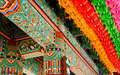 Colored details of an Asian Temple and Lanterns - PhotoDune Item for Sale