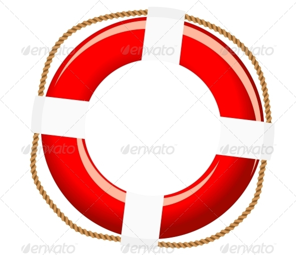 GraphicRiver Isolated Life Buoy 3804048