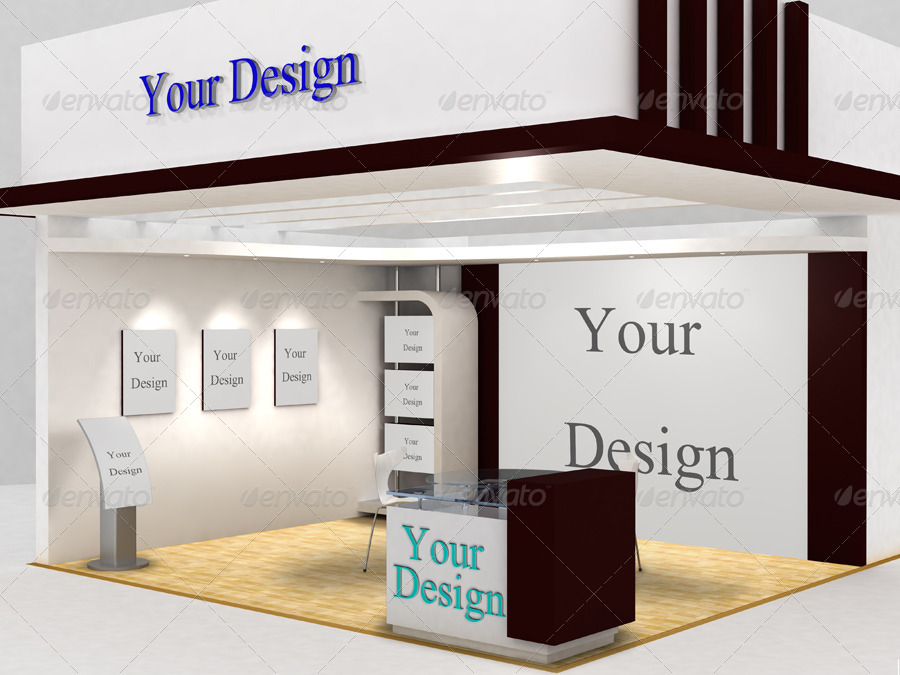 Exhibition Booth Pdf : Show booth mock up by maxtecb graphicriver