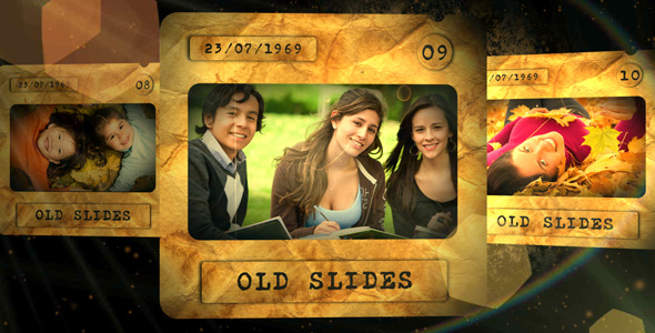 After Effects Project - VideoHive Old Slides 409621