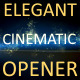 elegant cinematic opener 2 - VideoHive Item for Sale