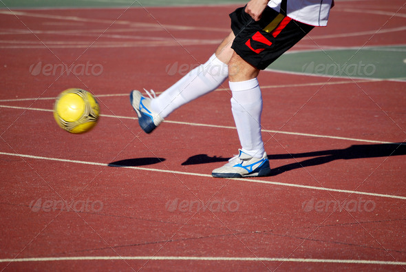 PhotoDune Soccer player 3805747