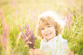Child holding flowers - PhotoDune Item for Sale
