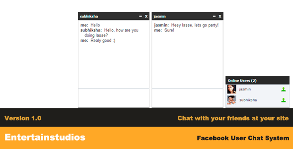 CodeCanyon Facebook User Chat System 3807143
