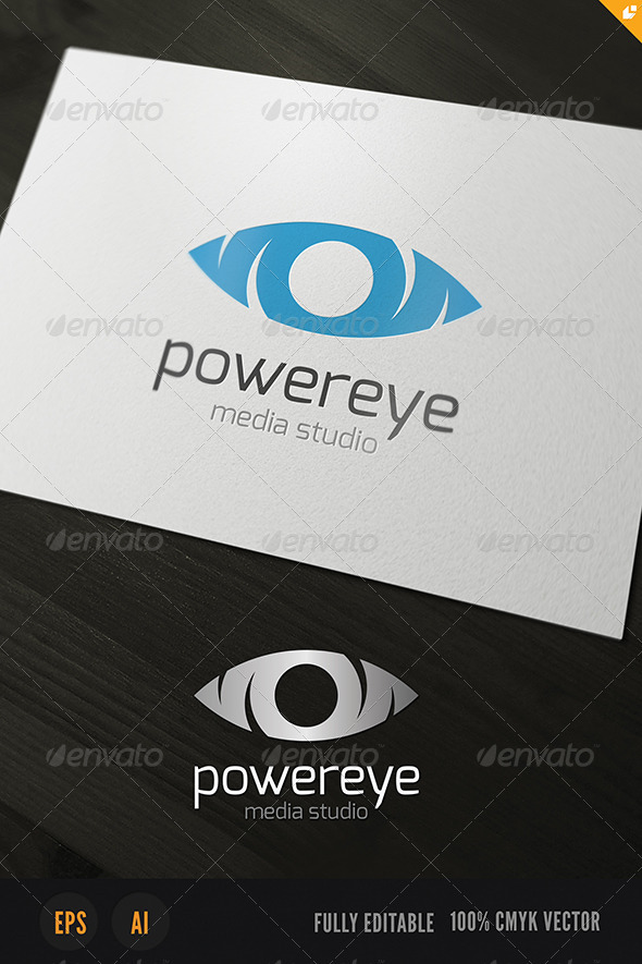 GraphicRiver Powereye Logo 3807190