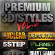 Dimensions - Premium 3D Styles Vol.2 - GraphicRiver Item for Sale