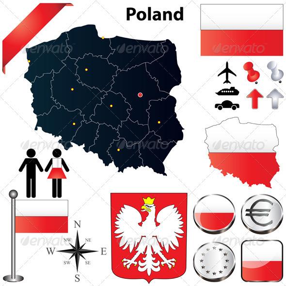 GraphicRiver Poland Map 3808544