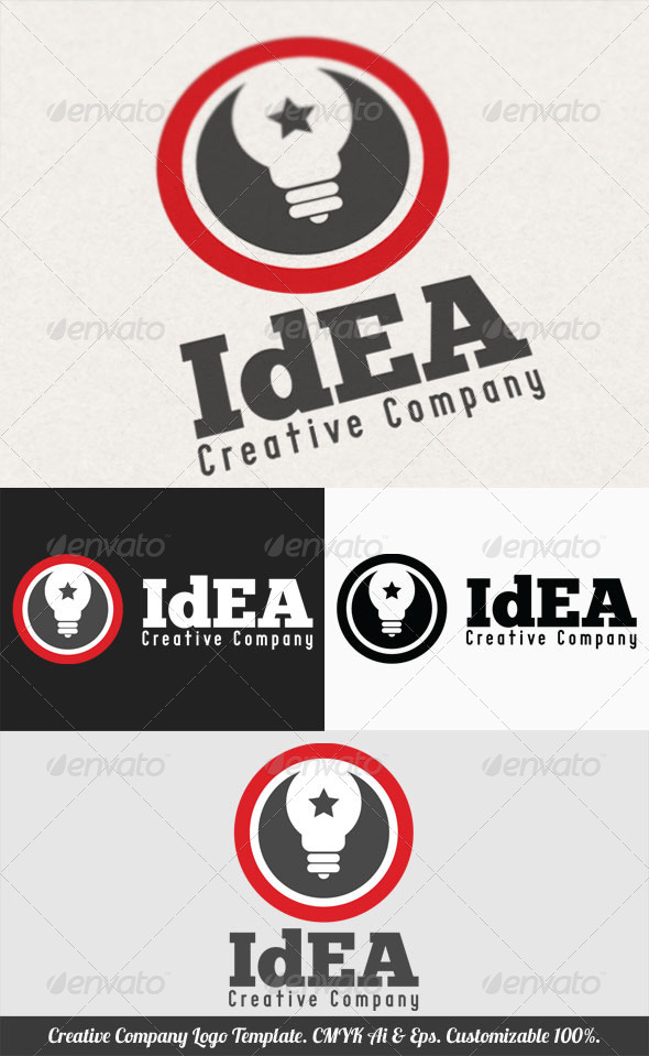 GraphicRiver Creative Company Logo Template 3651404