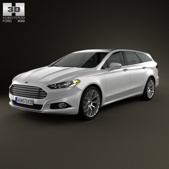 3DOcean Ford Fusion Mondeo wagon 2013 3809091