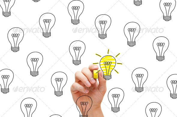 Great Idea - Stock Photo - Images