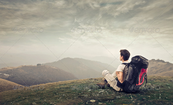 Young Explorer - Stock Photo - Images