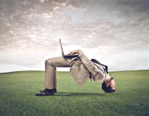 Crooked Work - Stock Photo - Images