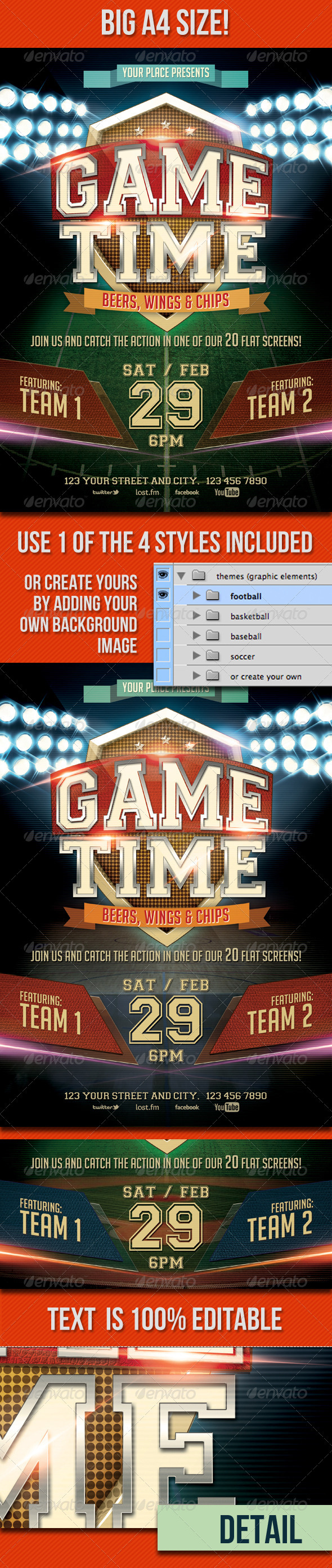 GraphicRiver Game Time 3810740