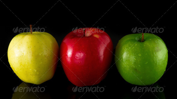 Tree Apples - Stock Photo - Images