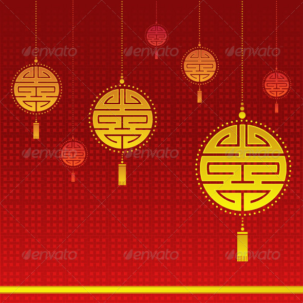 GraphicRiver Chinese New Year Background 3810770