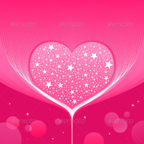 GraphicRiver Love Heart Background 3810774