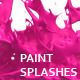 Variety of Isolated 3D Paint Splashes 2 - GraphicRiver Item for Sale