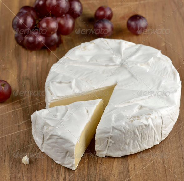Brie Cheese - Stock Photo - Images