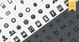 Media vector shape icons