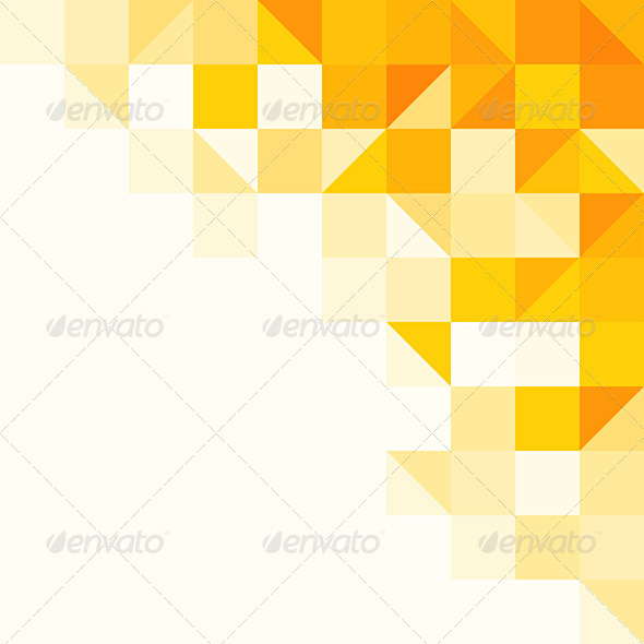 GraphicRiver Yellow Abstract Pattern 3813591
