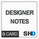 Designer Notes: Graph, Grid, Lined Business Cards - GraphicRiver Item for Sale