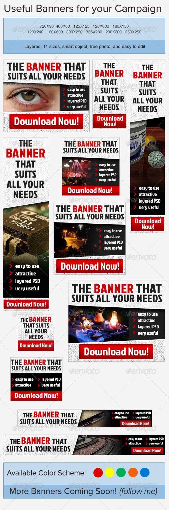 GraphicRiver Standard Banner Ad 3738163