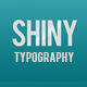 Shiny Typography Intro - VideoHive Item for Sale
