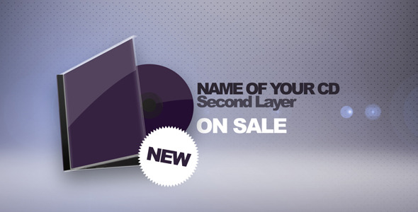 After Effects Project - VideoHive 3D CD Cover Promotion 410783