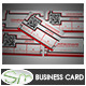 Corporate Business Card Lines & Squares Template - GraphicRiver Item for Sale