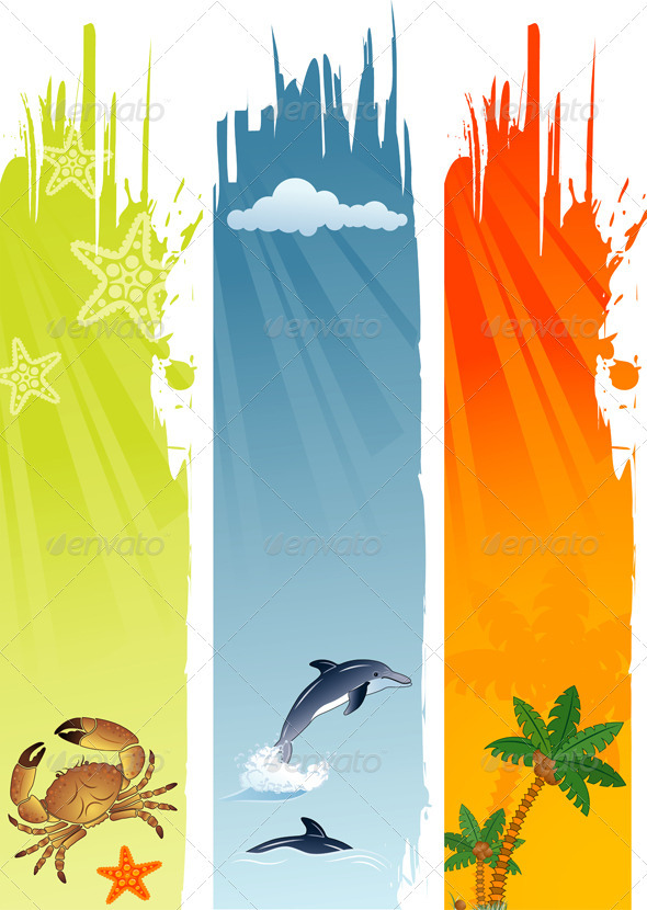 Summer Banner - Seasons Nature