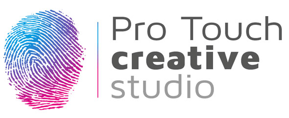 Pro touch creative logo