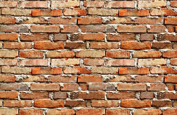 PhotoDune red brick wall background 3814765
