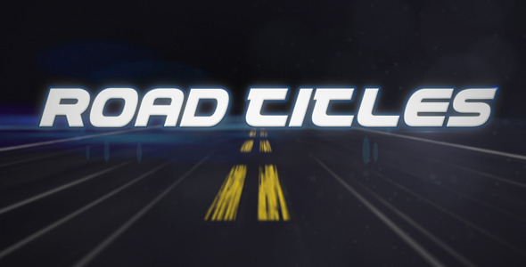 VideoHive After Effects Project - Road Titles 410981