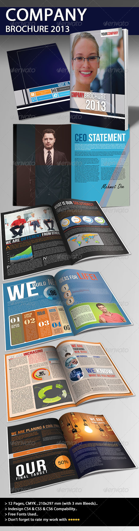 GraphicRiver Company Brochure 2013 Part 02 3815039