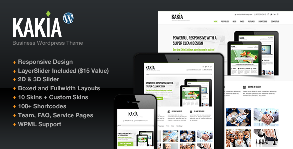 ThemeForest Kakia Multi-Purpose Business Corporate Theme 3815270