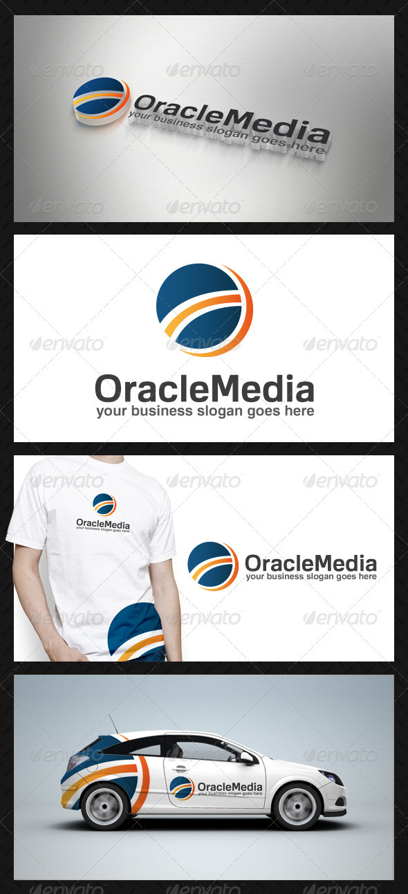 GraphicRiver Oracle Media Logo Template 3817328