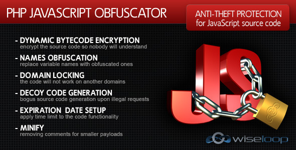 CodeCanyon PHP Javascript Obfuscator 411175
