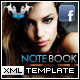 Note Book Facebook Fan Page Template - ActiveDen Item for Sale
