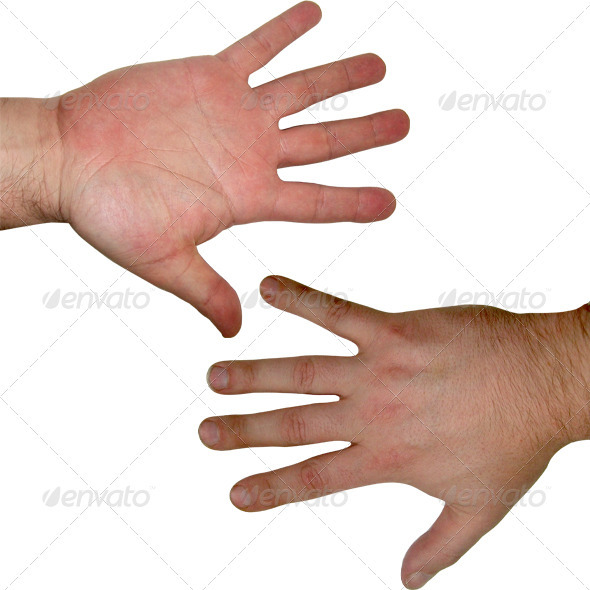 Human hand textures - 3DOcean Item for Sale