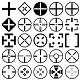26 Crosshair Shapes for Adobe Photoshop - GraphicRiver Item for Sale