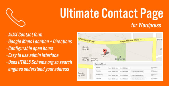 CodeCanyon Ultimate Contact Page 3805658
