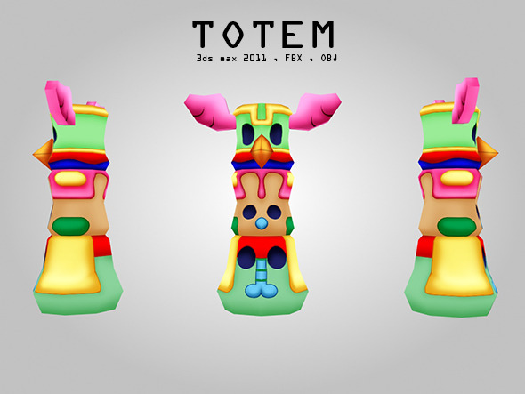 3DOcean Totem 3821666