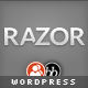 Razor: Cutting Edge WordPress Theme